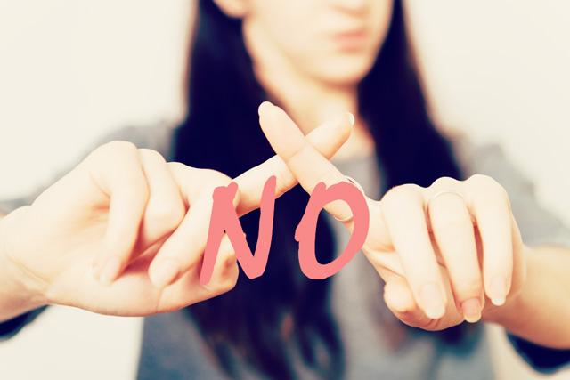 嫌なことには「NO!」と言う勇気を持つべき理由5つ